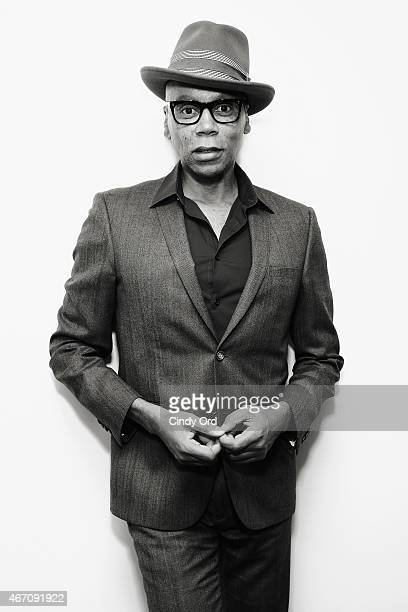 TV personality RuPaul visits the SiriusXM Studios on March 20 2015 in New York City