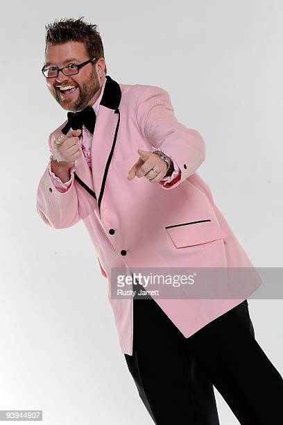 Personality Rutledge Wood poses before the NASCAR Sprint Cup Series awards banquet during the final day of the NASCAR Sprint Cup Series Champions...