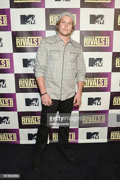 TV personality Ryan Knight attends MTV's The Challenge Rivals II final episode and reunion party at Chelsea Studio on September 25 2013 in New York...