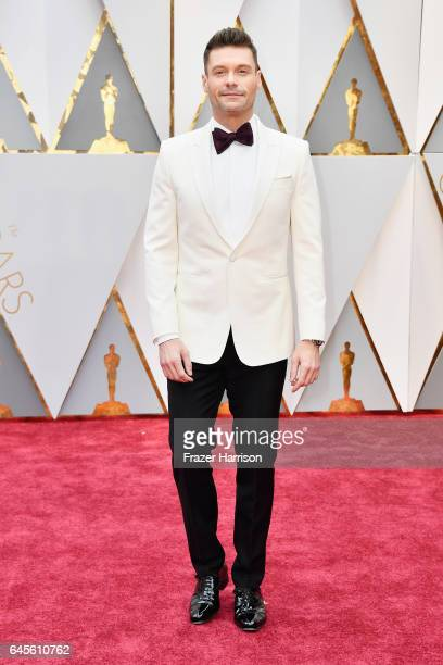 TV personality Ryan Seacrest attends the 89th Annual Academy Awards at Hollywood Highland Center on February 26 2017 in Hollywood California