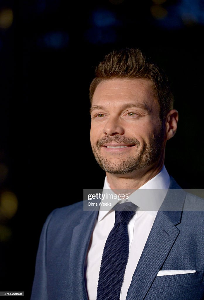 TV personality Ryan Seacrest attends the Burberry 'London in Los Angeles' event at Griffith Observatory on April 16, 2015 in Los Angeles, California.