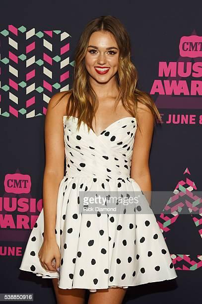 Sadie Robertson on 2016 CMT Music Awards- Red Carpet