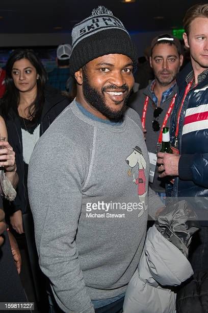 TV personality Sal Masekela attends Paige Hospitality Game Watch at Sky Bar on January 20 2013 in Park City Utah
