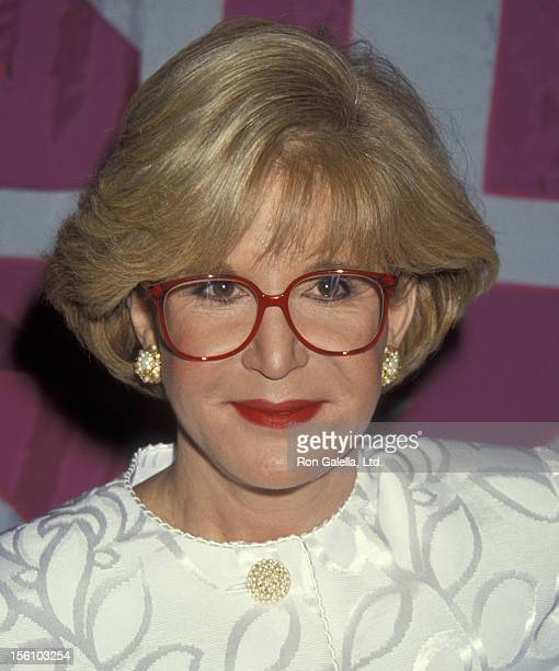 TV Personality Sally Jessy Raphael attending 'NAPTE Convention' on January 26 1993 at the Moscone Convention Center in San Francisco California