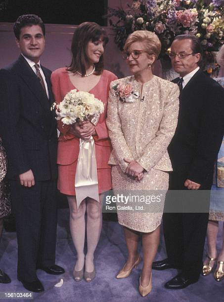 TV Personality Sally Jessy Raphael husband Karl Soderlund Peter Romanoff and Andrea Vladimir attending the taping of 'The Sally Jessy Raphael Show'...