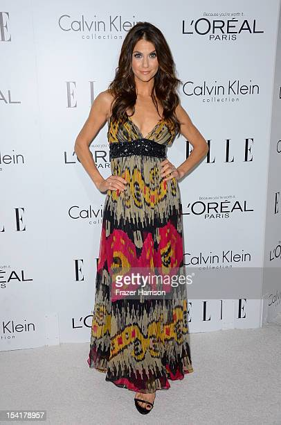 Personality Samantha Harris arrives at ELLE's 19th Annual Women In Hollywood Celebration at the Four Seasons Hotel on October 15 2012 in Beverly...