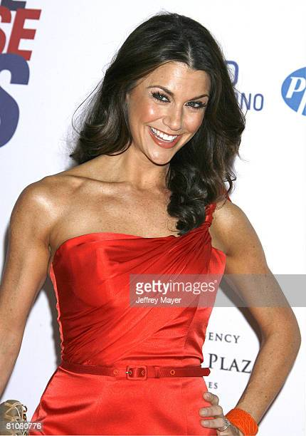 Personality Samantha Harris arrives at the 15th Annual Race To Erase MS on May 2, 2008 at the Century Plaza Hotel in Century City, California.