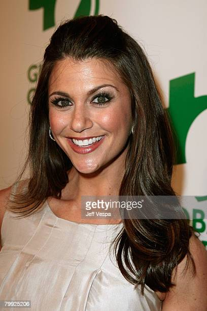 TV personality Samantha Harris attends Global Green USA's 5th Annual Pre Oscar Party at Avalon Hollywood on February 20 2008 in Los Angeles California