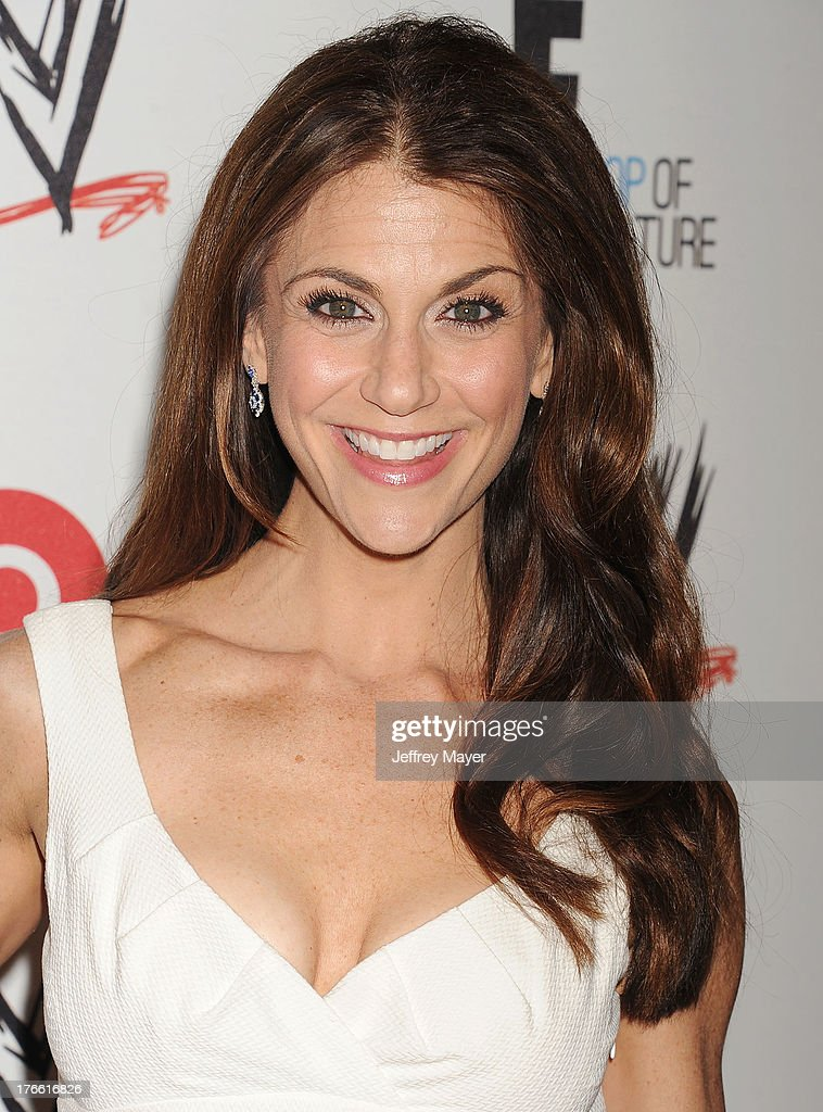 TV personality Samantha Harris attends WWE & E! Entertainment's 'SuperStars For Hope' at the Beverly Hills Hotel on August 15, 2013 in Beverly Hills, California.