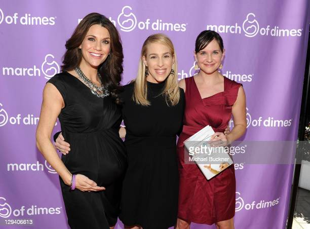 Personality Samantha Harris, Dr. Jenn Berman and Actress Kellie Martin attend the March of Dimes Foundation & Samantha Harris Host 5th Annual...