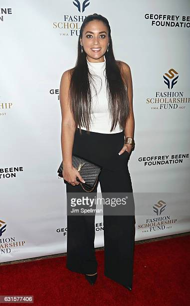 TV personality Sammi Giancola attends the 80th Annual YMA Fashion Scholarship Fund Geoffrey Beene National Scholarship Awards at Grand Hyatt New York...