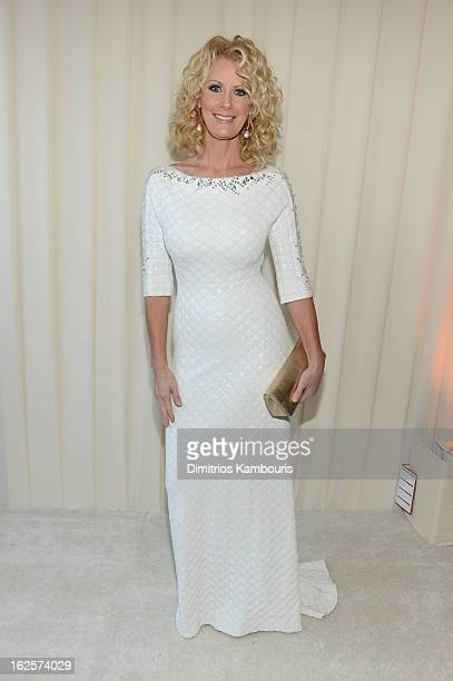 Personality Sandra Lee attends the 21st Annual Elton John AIDS Foundation Academy Awards Viewing Party at West Hollywood Park on February 24 2013 in...