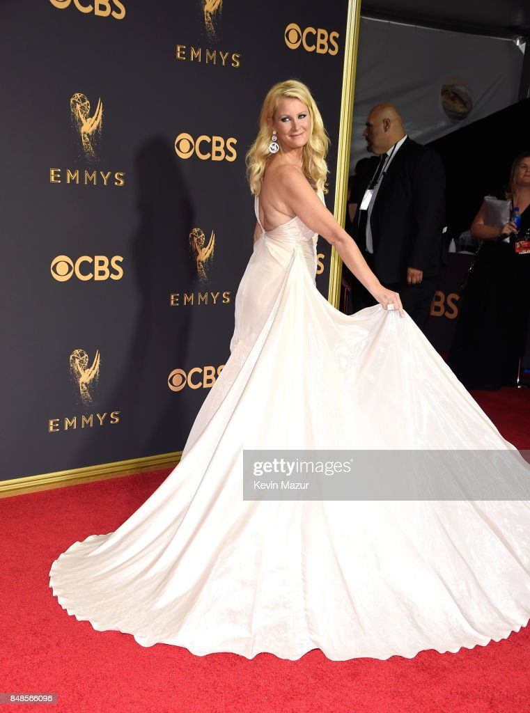 TV personality Sandra Lee attends the 69th Annual Primetime Emmy Awards at Microsoft Theater on September 17, 2017 in Los Angeles, California.