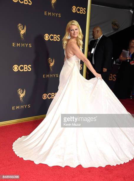 TV personality Sandra Lee attends the 69th Annual Primetime Emmy Awards at Microsoft Theater on September 17 2017 in Los Angeles California