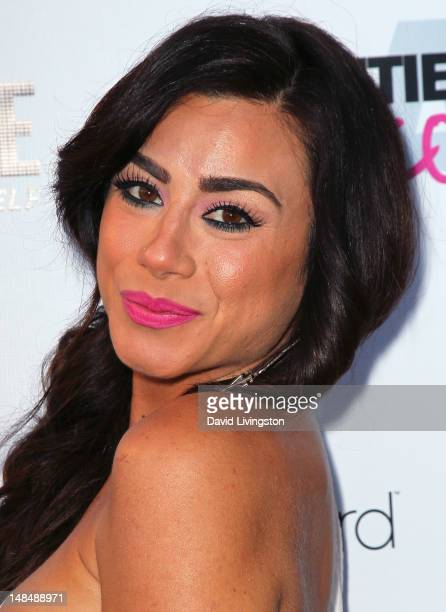 TV personality Sara Bettencourt attends the premiere of Showtime's 'The Real L World' Season 3 at Revolver on July 17 2012 in West Hollywood...