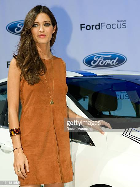 Personality Sara Carbonera presents the new 'Ford Focus' on May 12, 2011 in Barcelona, Spain.