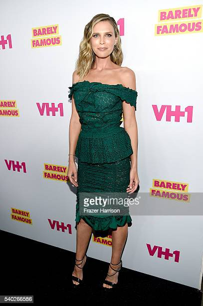 TV personality Sara Foster attends VH1's Barely Famous Season 2 Party on June 14 2016 in West Hollywood California