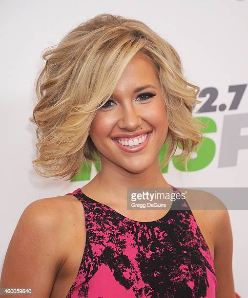 TV personality Savannah Chrisley attends KIIS FM's Jingle Ball 2014 powered by LINE at Staples Center on December 5 2014 in Los Angeles California