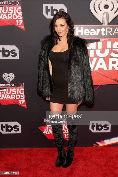 TV personality Scheana Marie attends the 2017 iHeartRadio Music Awards which broadcast live on Turner's TBS TNT and truTV at The Forum on March 5...