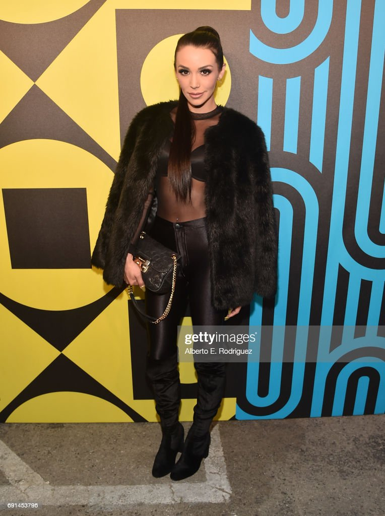 TV personality Scheana Marie attends the MAC Pro to Pro Los Angeles Event at Siren Studios on June 1, 2017 in Hollywood, California.