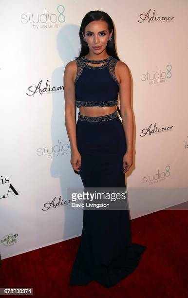 TV personality Scheana Marie attends the premiere party for Circle 8 Production's 'This Is LA' at Yamashiro Hollywood on May 3 2017 in Los Angeles...