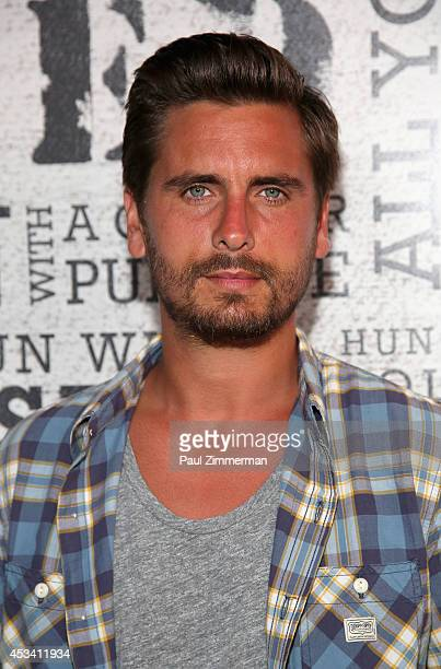 Personality Scott Disick attends Women's Health Hosts Hamptons Party Under The Stars for RUN10 FEED10 at Bridgehampton Tennis and Surf Club on August...