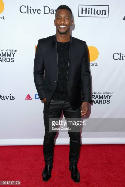 TV personality Scott Evans attends the Clive Davis and Recording Academy PreGRAMMY Gala and GRAMMY Salute to Industry Icons Honoring JayZ on January...