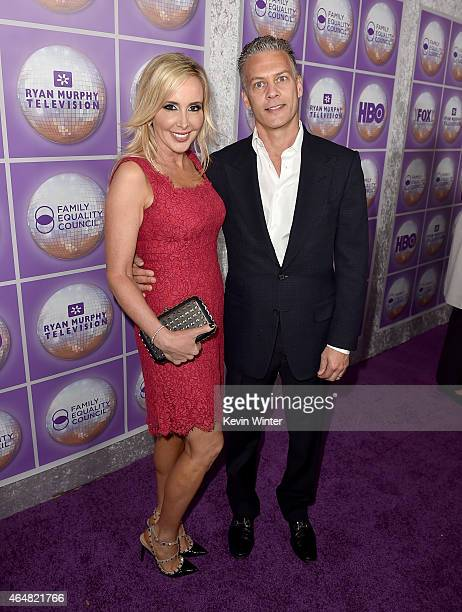 TV personality Shannon Beador and David Beador attend the Family Equality Council's 2015 Los Angeles Awards dinner at The Beverly Hilton Hotel on...