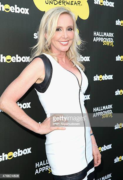TV personality Shannon Beador attends Shoebox's 29th Birthday Celebration hosted by Rob Riggle at The Improv on June 10 2015 in Hollywood California
