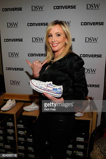 TV personality Shannon Beador attends the HBO Luxury Lounge at the Four Seasons Hotel Los Angeles at Beverly Hills on January 8 2016 in Los Angeles...