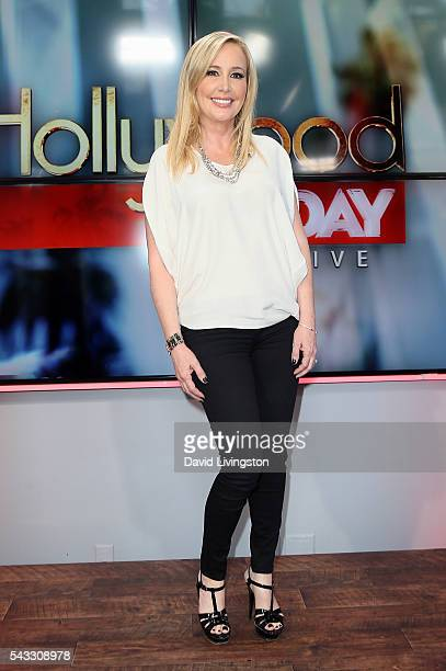 TV personality Shannon Beador visits Hollywood Today Live at W Hollywood on June 27 2016 in Hollywood California