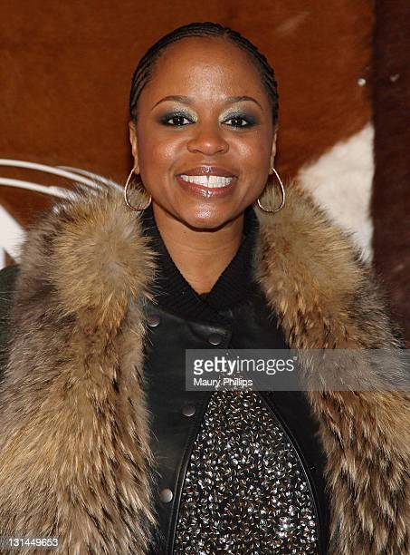 TV personality Shante Broadus arrives at the ESPN Magazine NEXT Party held at the NEXT Ranch on February 4 2011 in Fort Worth Texas