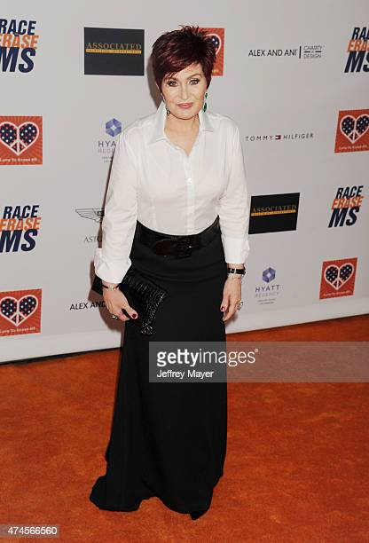 TV personality Sharon Osbourne arrives at the 22nd Annual Race To Erase MS at the Hyatt Regency Century Plaza on April 24 2015 in Century City...