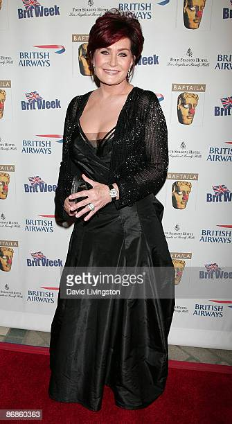 TV personality Sharon Osbourne attends BAFTA/LA's 2nd Annual British Comedy Festival at Four Seasons Hotel Los Angeles on May 8 2009 in Los Angeles...