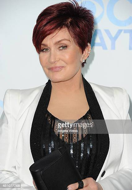 TV personality Sharon Osbourne attends the 41st Annual Daytime Emmy Awards CBS after party at The Beverly Hilton Hotel on June 22 2014 in Beverly...