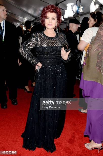 Personality Sharon Osbourne attends the 56th GRAMMY Awards at Staples Center on January 26, 2014 in Los Angeles, California.