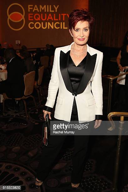 TV personality Sharon Osbourne attends the Family Equality Council Impact Awards on March 12 2016 in Beverly Hills California