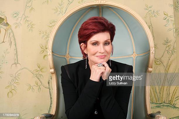 TV personality Sharon Osbourne poses for a portrait at the BG restaurant on September 5 2012 in New York City