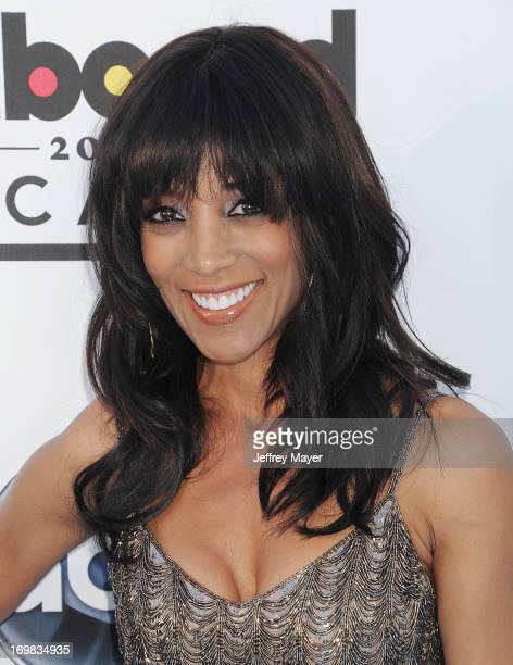 Personality Shaun Robinson arrives at the 2013 Billboard Music Awards at the MGM Grand Garden Arena on May 19 2013 in Las Vegas Nevada