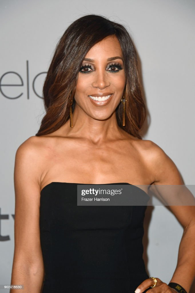 TV personality Shaun Robinson attends 19th Annual Post-Golden Globes Party hosted by Warner Bros. Pictures and InStyle at The Beverly Hilton Hotel on January 7, 2018 in Beverly Hills, California.