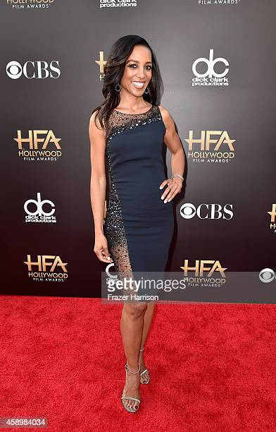 TV personality Shaun Robinson attends the 18th Annual Hollywood Film Awards at The Palladium on November 14 2014 in Hollywood California