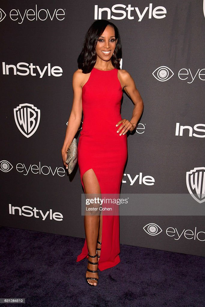 TV personality Shaun Robinson attends the 18th Annual Post-Golden Globes Party hosted by Warner Bros. Pictures and InStyle at The Beverly Hilton Hotel on January 8, 2017 in Beverly Hills, California.