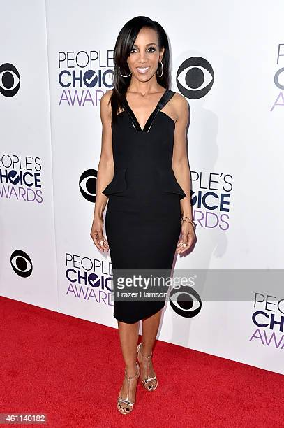 TV personality Shaun Robinson attends The 41st Annual People's Choice Awards at Nokia Theatre LA Live on January 7 2015 in Los Angeles California