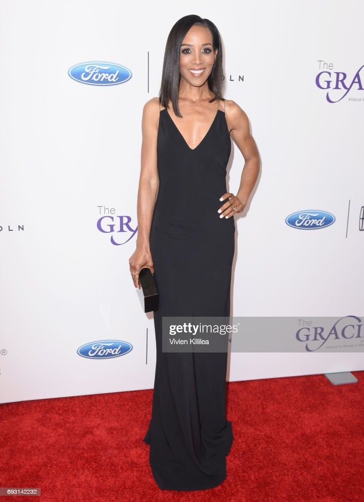 TV personality Shaun Robinson attends the 42nd Annual Gracie Awards Gala, hosted by The Alliance for Women in Media at the Beverly Wilshire Hotel on June 6, 2017 in Beverly Hills, California.