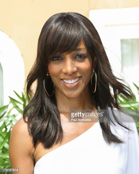 Personality Shaun Robinson attends the Reed For Hope Foundation's 11th annual Sunshine Beyond Summer celebration on August 31 2013 in Westlake...
