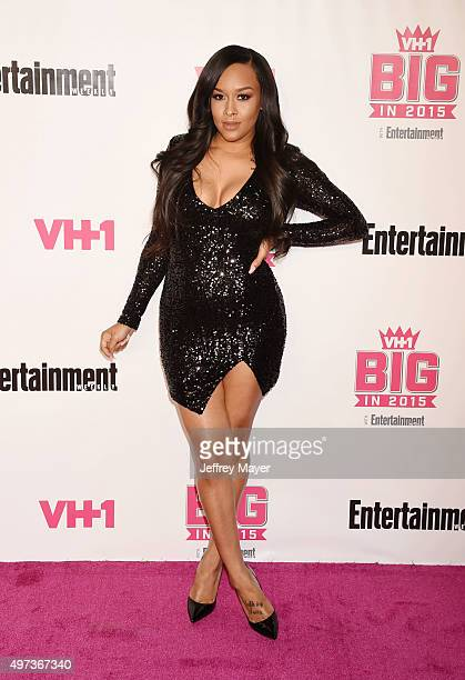 TV personality Shaunie O'Neal attends VH1 Big In 2015 With Entertainment Weekly Awards at Pacific Design Center on November 15 2015 in West Hollywood...
