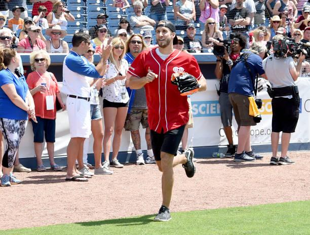 Shawn johnson celebrity softball game