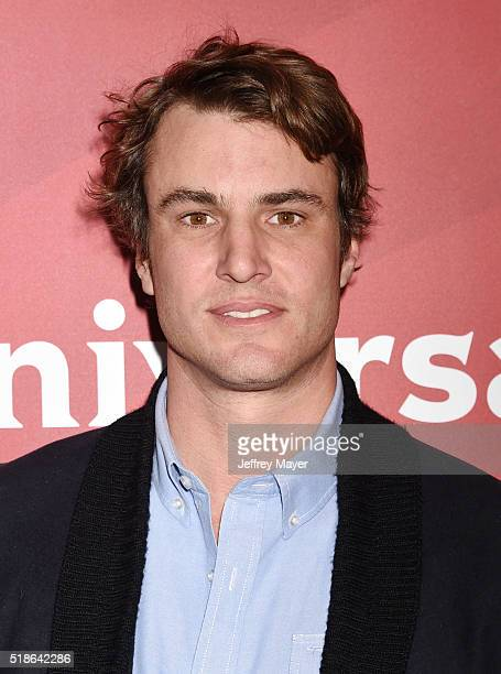 TV personality Shep Rose arrives at the 2016 Summer TCA Tour NBCUniversal Press Tour at the Four Seasons Hotel Westlake Village on April 1 2016 in...