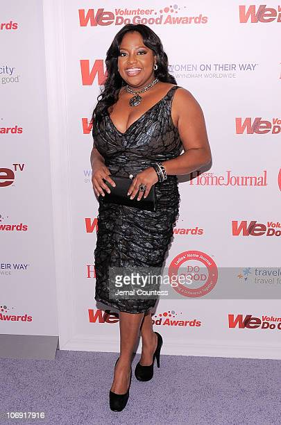 Personality Sherri Shepherd attends the WE tv and Ladies' Home Journal's WE Do Good Awards at Espace on November 16 2010 in New York City As part of...