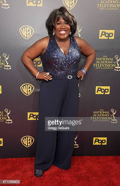TV personality Sheryl Underwood arrives at the 42nd Annual Daytime Emmy Awards at Warner Bros Studios on April 26 2015 in Burbank California